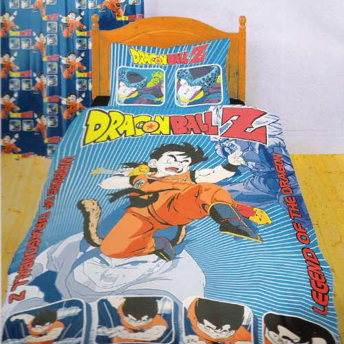 Dragon ball z bed set for Dragon ball z bedroom